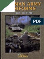 [Militaria] [Accion Press] - German Army Uniforms of the Heer 1933-45 - Cardona & Sanchez