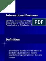 International Business I