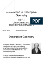 Introduction to Descriptive Geometry