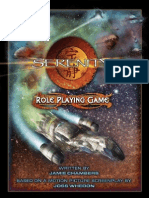 Serenity Role Playing Game