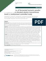 Fermented Turmeric Powder