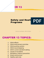 ch13 SAFETY HEALTH PROGRAMS