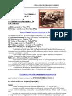 Unidad Nº 8 Enfermedades y accidentes con E.B.A.C. 2003