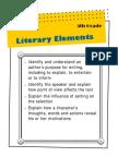 5th - Literary Elements