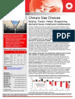China's Gas Choices Beijing, Tianjin, Hebei Burgeoning Demand Faces Midstream Bottlenecks April 2014