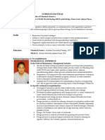 Formulator Kimia Curriculum Vitae Suhairi