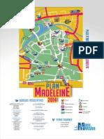 Plan des Fêtes de la Madeleine 2014