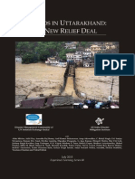 Floods in Uttarakhand a New Relief Deal Revised