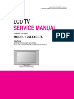 26LX1D service Manual, LG LCD TV