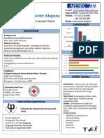 CV Carlos Javier Alaguna EPID EP in CO JA 2014 2824 Portugal TN in PT XX 2014 1460