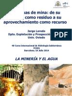 Las aguas de mina