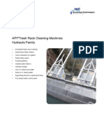 API Hydraulic Trash Rack Cleaning Machines