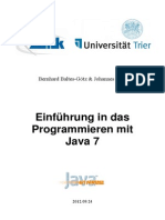 Java - Einführung in die Programmierung