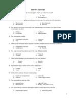 Anatomy & Microbiology