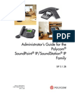 Audioconferencing Polycom Soundstation Soundpoint Administrators Guide