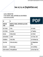 Prepositions of Time_ at, In, On _ EnglishClub