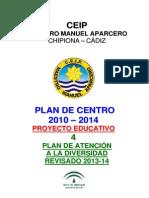 Plan de Atencion a La Diversidad 2013-14