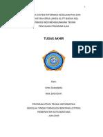 Sistem Inf. Keselamatan Dan Kesehatan Kerja ( SHEQ IS) PT Badak NGL Bontang - Junaini SKom MKom