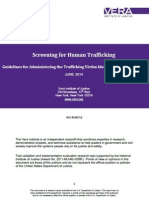 Guidelines for Administering the Trafficking Victim Identification Tool (TVIT)