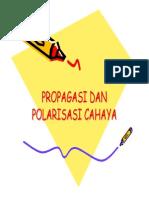 3 Propagasi Dan Polarisasi Cahaya