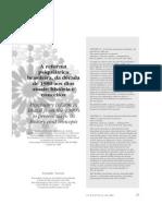 01. TENÓRIO, Fernando. a Reforma Psiquiátrica Brasileira, De 1980 Aos Dias Atuais