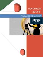 Informe i de Geodesia Para Imprimir