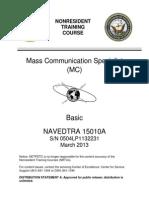 MC NAVEDTRA 15010A (Basic)