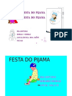Cartaz Da Festa Do Pijamamanhã