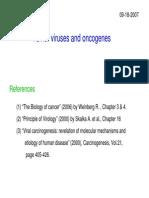 Oncogenic Viruses