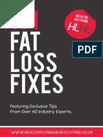 101 Fat Loss Fixes