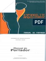 Manual Espondilite Anquilosante - 1º parte