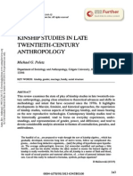 Peletz, Michael G.-kinship Studies in Late Anthropology