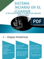 Sistema Penitenciario en El Ecuador Dr. Marco Noriega