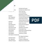 Carta Organisasi