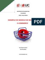 E-commerce- Exemplo de Modelofeito