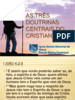 As Três Doutrinas Centrais Do Cristianismo