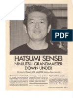 1990 Interview of Hatsumi Soke