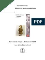 Nathalie Sarraute - Sur l'Enfance