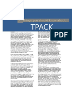 7 things you should know about tpack - kimberly hoffman