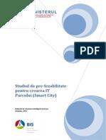 Studiului de Pre-Fezabilitate Pentru Crearea IT Parcului2012