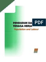 Penduduk Dan Naker  Kabupaten Bengkalis 2013