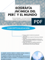 Geografía Económica Del Perú y El Mundo