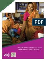 VSO Social Accountability Report 2014