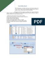 Actividad 3 Excel
