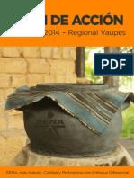 Plan de Acción_ Regional Vaupés 2014