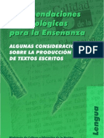 producción textos escritos