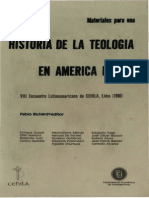 Richard, Pablo - Historia de La Teologia en America Latina