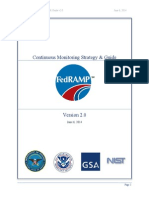 FedRAMP Continuous Monitoring Strategy Guide v2.0