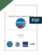 FedRAMP Security Assessment Framework v1.0