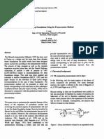 Design of Deep Foundations Using the Pressuremeter Method